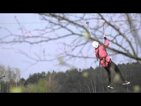 Vlieg razendsnel met de vernieuwde Zip Wire!