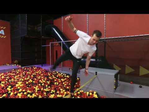 Jump XL: springen tot je erbij neervalt