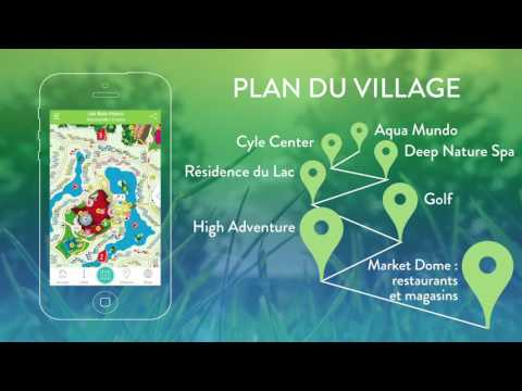 L'application mobile Planet Center Parcs grandit