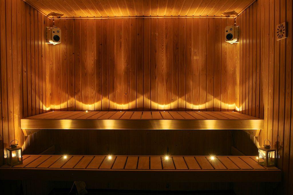 Saunan valaistus LED valot