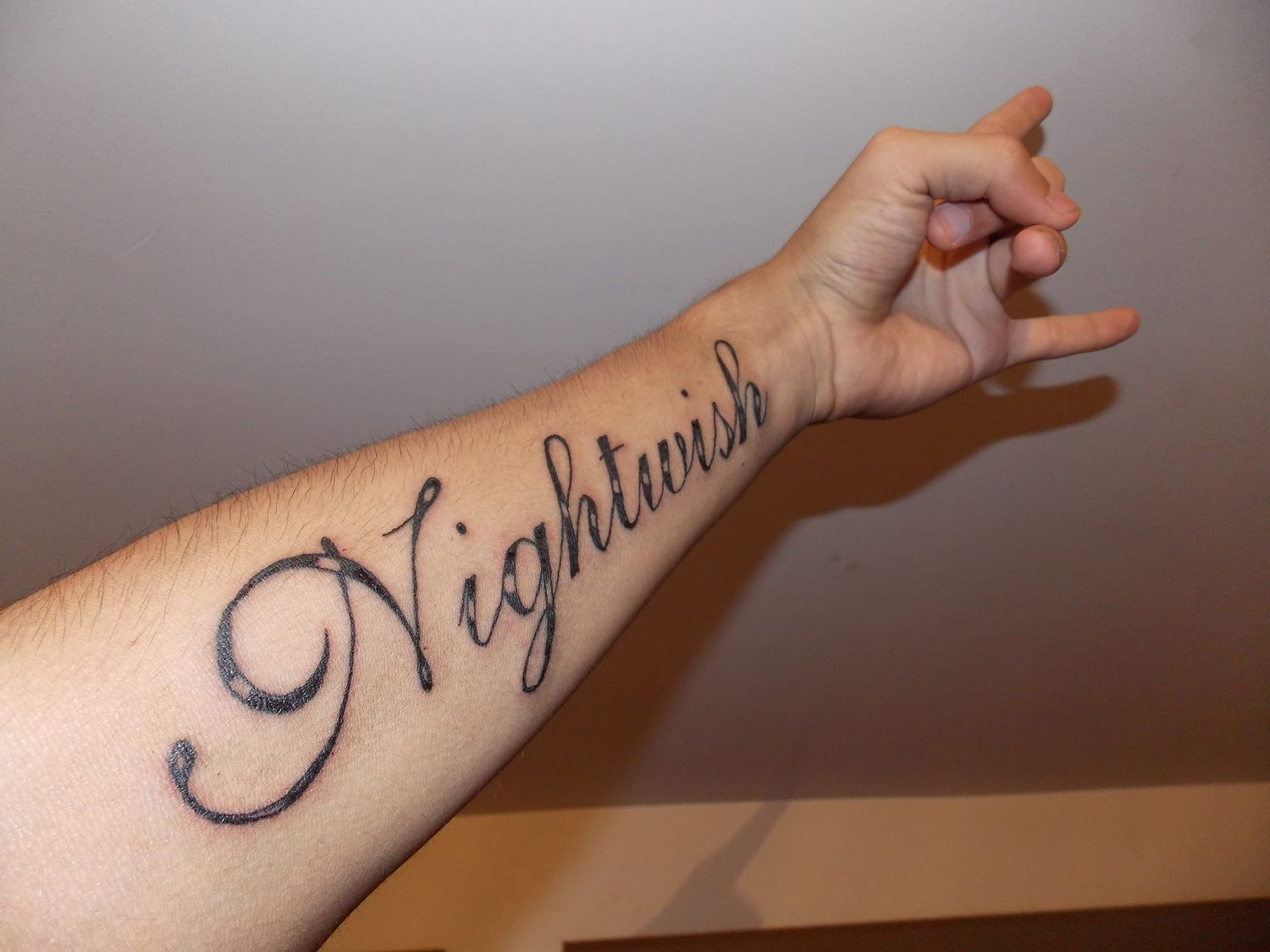 Send us a photo of your Nightwish tattoo! | In English | To