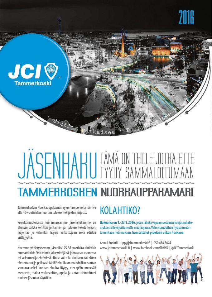 Tammerkosken Jäsenhaku 2016