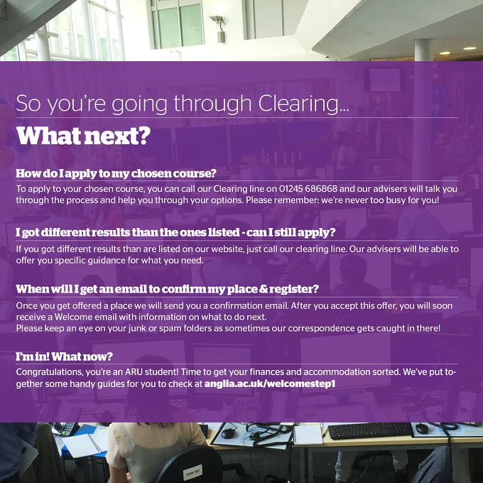 Hints and tips for Clearing