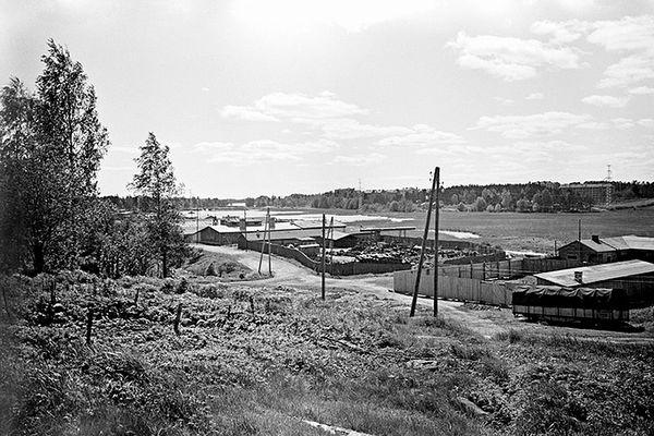 Pikku Huopalahti historia