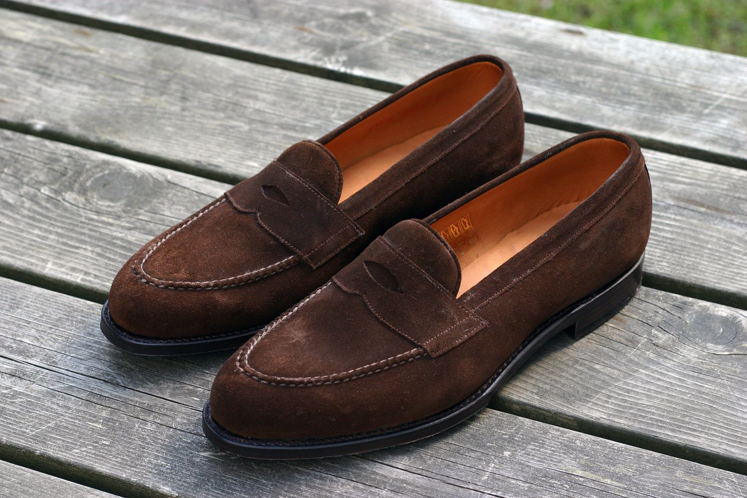 3e96461c6cc1 The brown calf tassel loafers I got from Septième Largeur earlier have been  fantastic