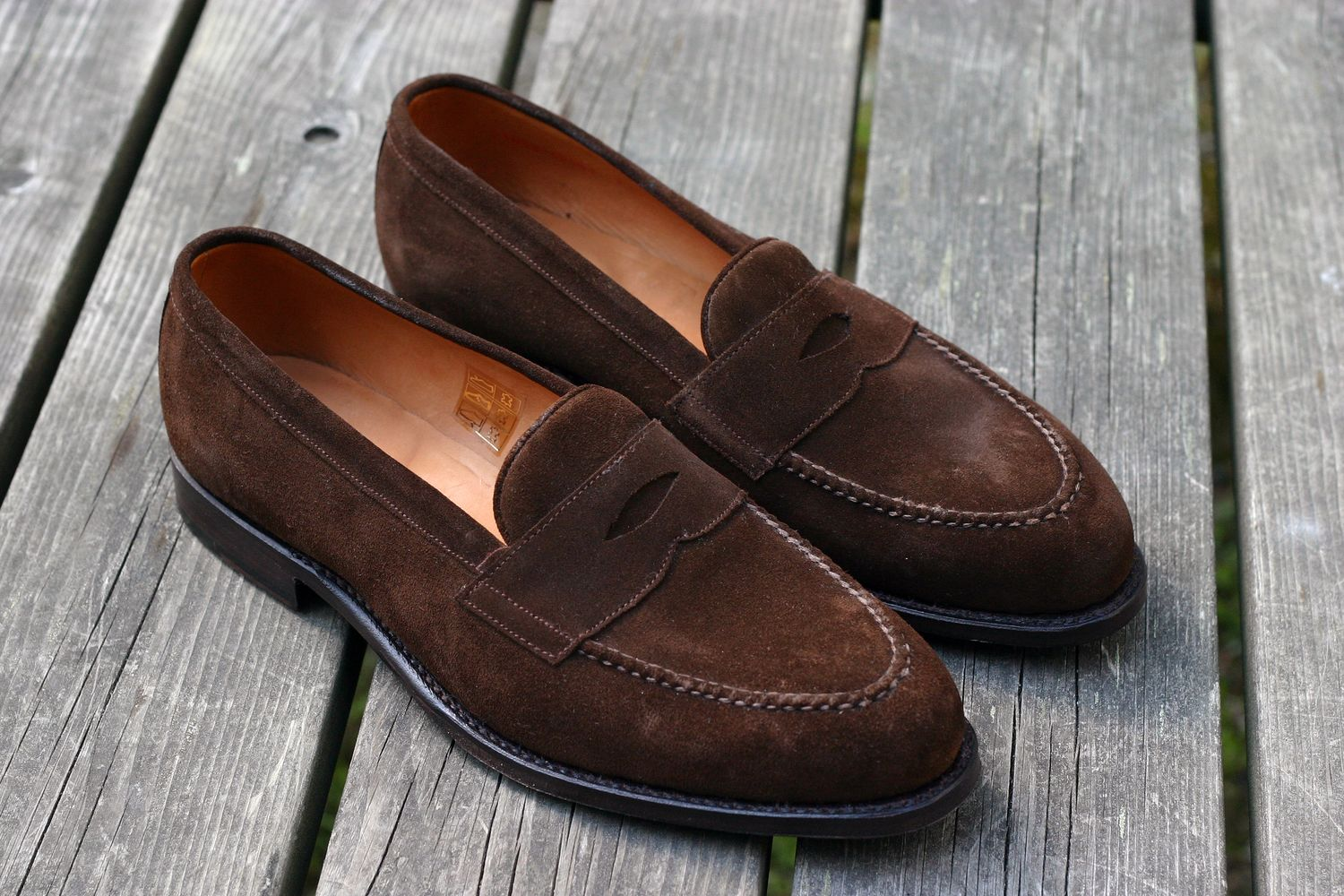 Item of the Week: Brown Suede Penny Loafers