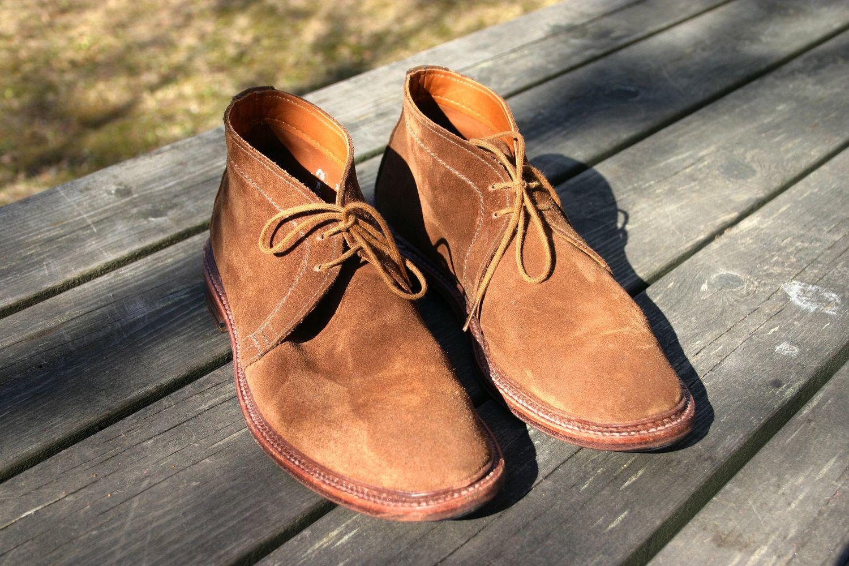 Alden Unlined Chukka Boots