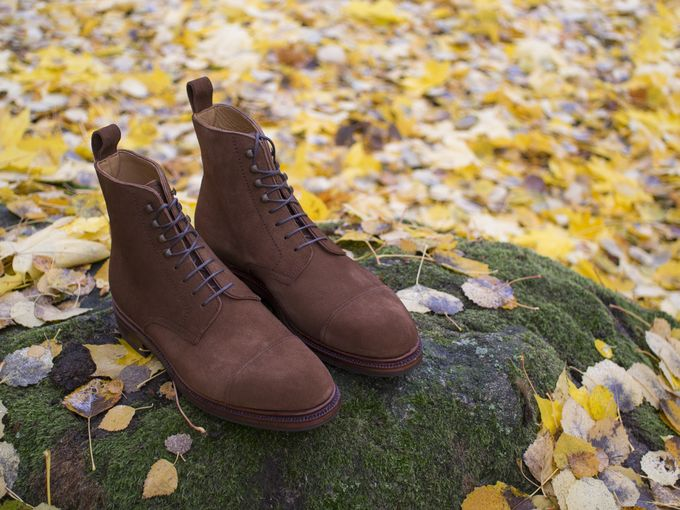 Meermin Snuff Suede Derby Boots Review