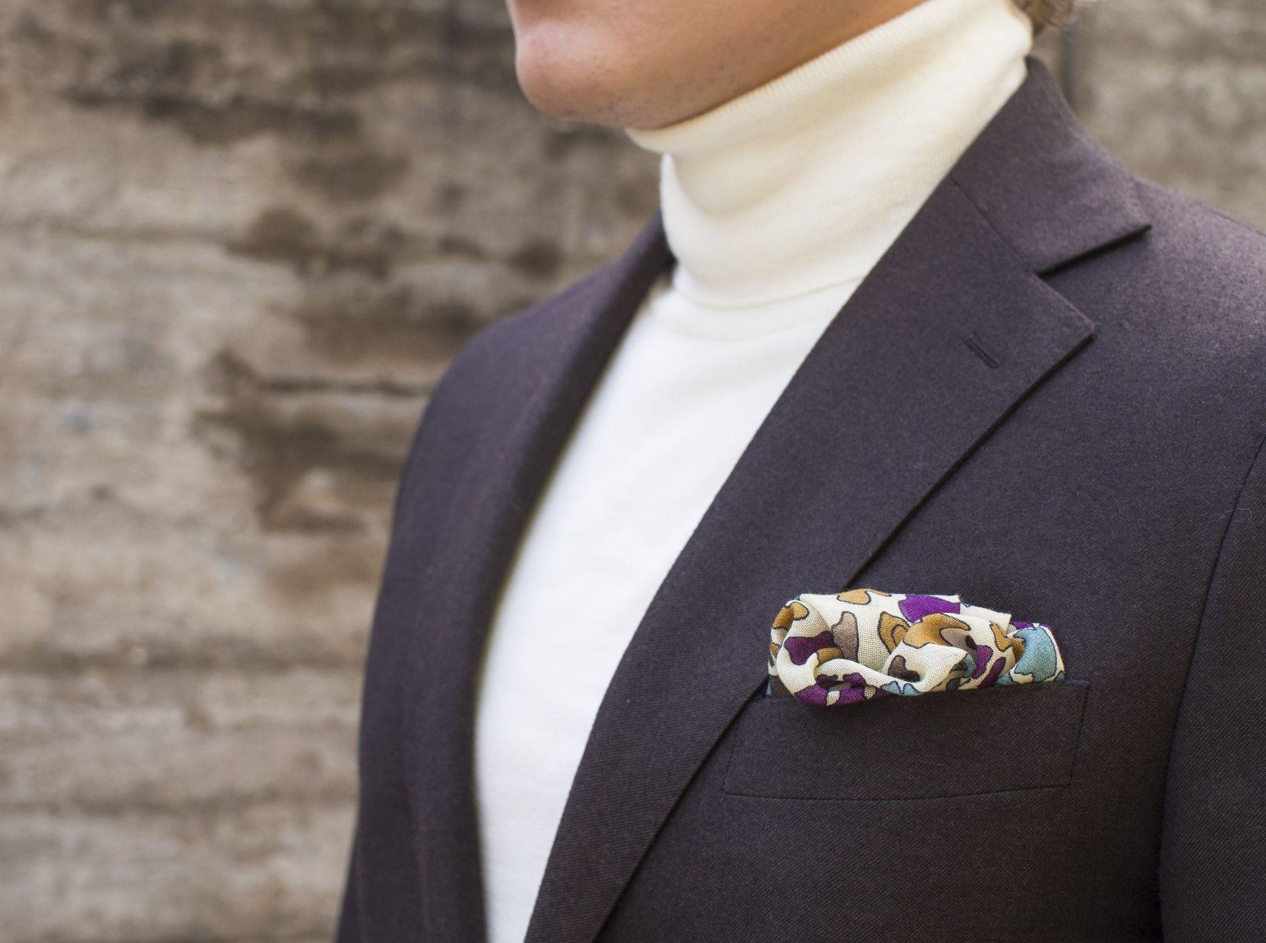 Vaatturiliike Sauma Brown Flannel Suit And Berg Berg Sweater