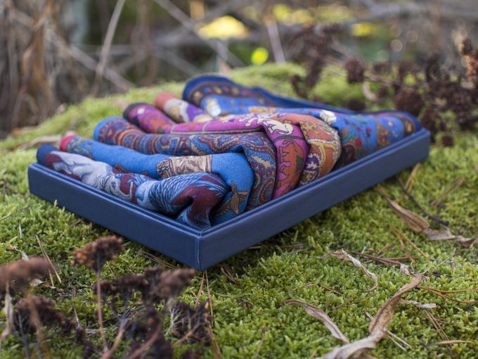 ​Pocket squares and frozen moss. What's not to like?​