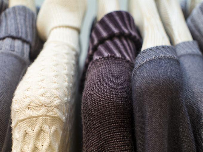Delicious Gran Sasso knitwear.