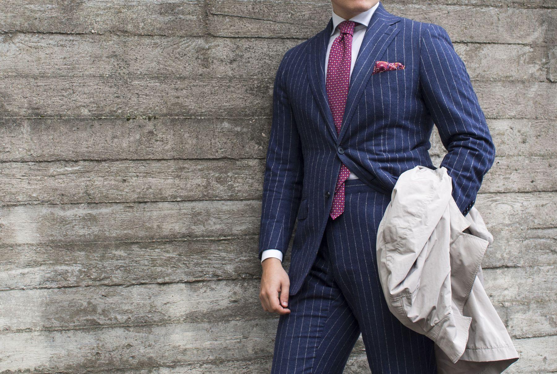 Black Pinstripe Suit Shirt Tie Combinations Carrerasconfuturo Com