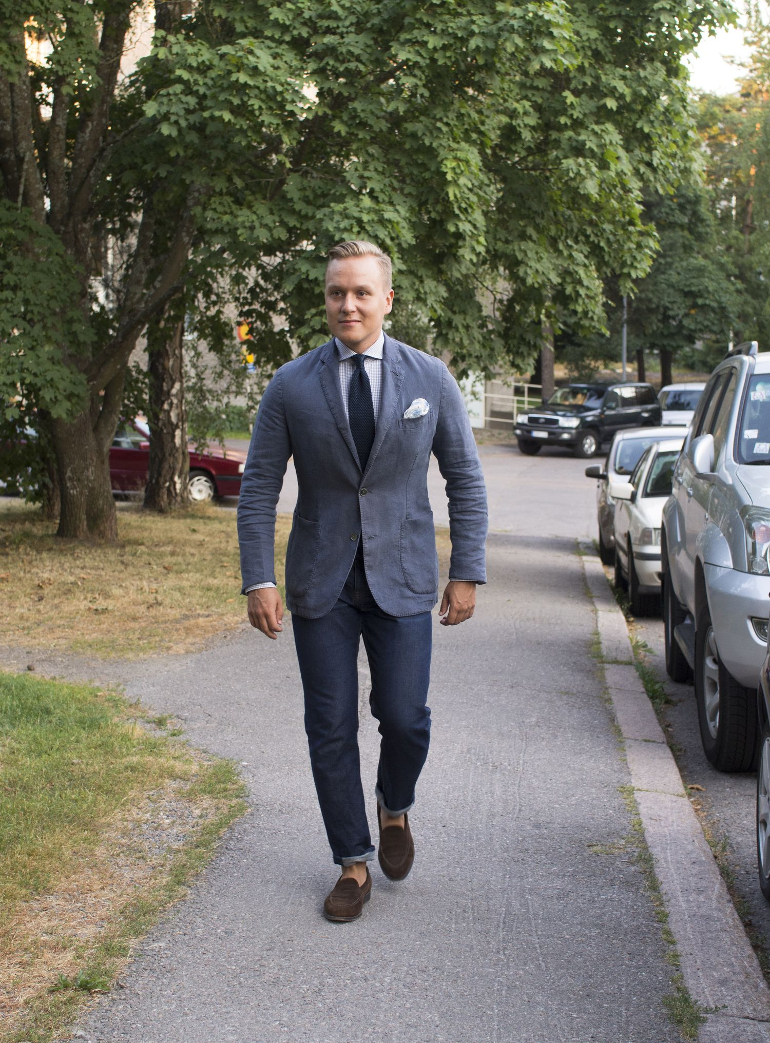 How To Wear a Sport Coat with Denim