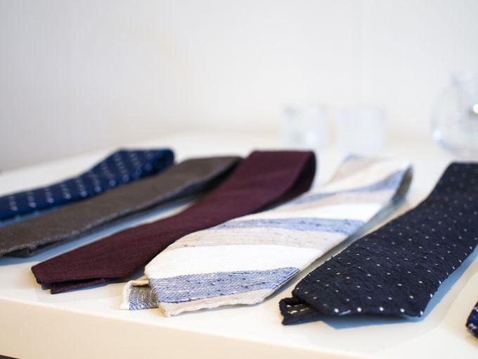 Summer textures and lightweight fabrics.