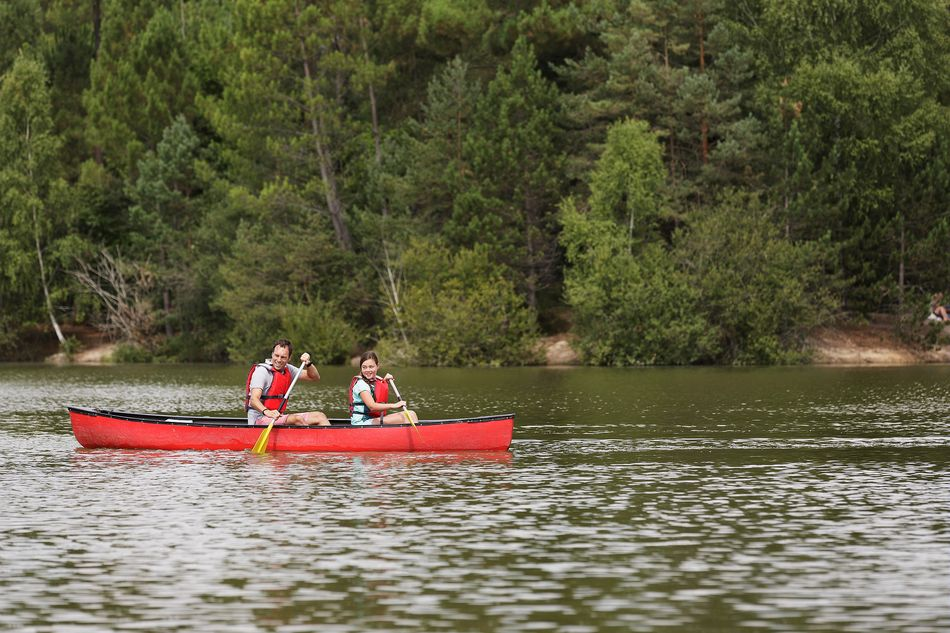 canoe lac