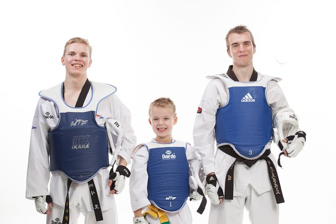 Taekwondoseura Mukwan Jyväskylän harrastajia