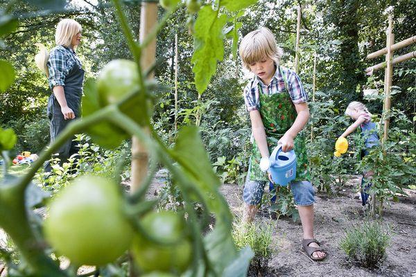 Tuinieren met de kids: leuk en leerzaam!