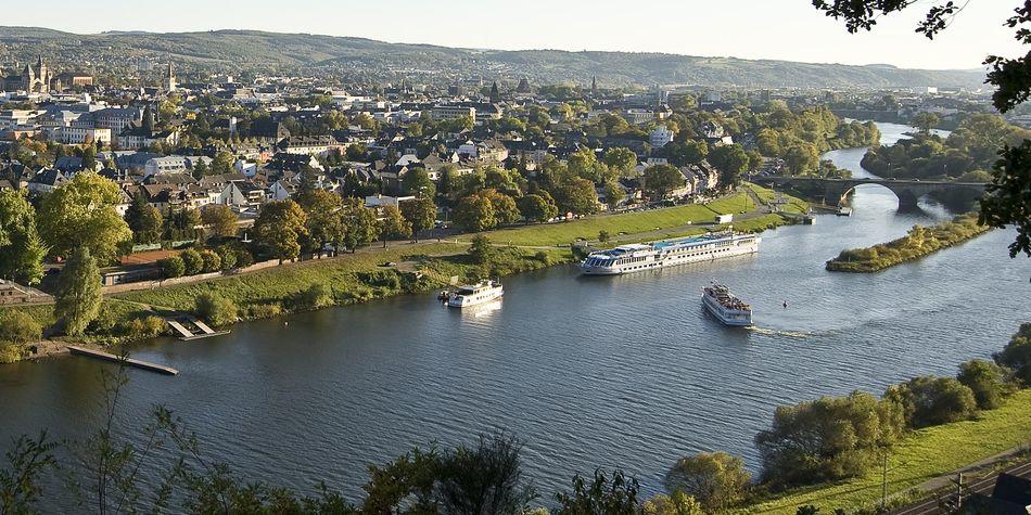Trier aan het water