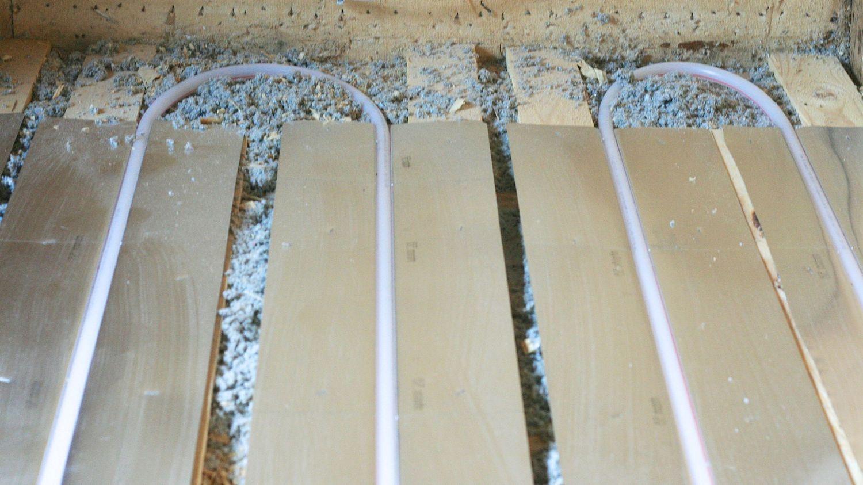 Laminaatin asennus lattialämmityksen päälle