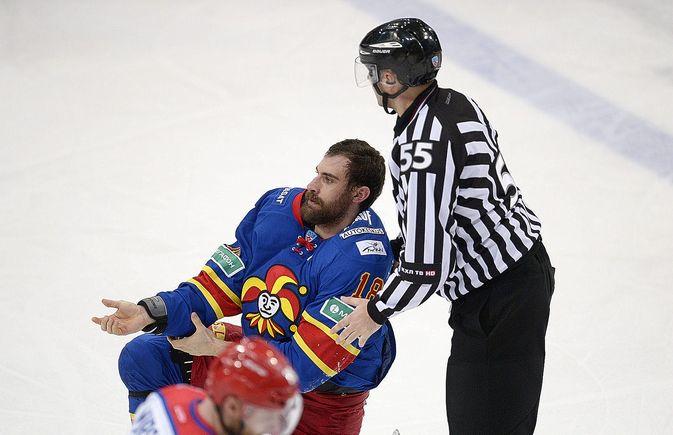 Semir Ben-Amor on rymistellyt tämän kauden KHL-kaukaloissa Jokereissa.