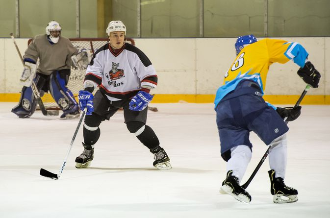 Itävallan kaukaloissa ammattilaisenakin pelannut Toni Brigatti sanoo pelaavansa AHL:ssä, jotta läski lähtisi.