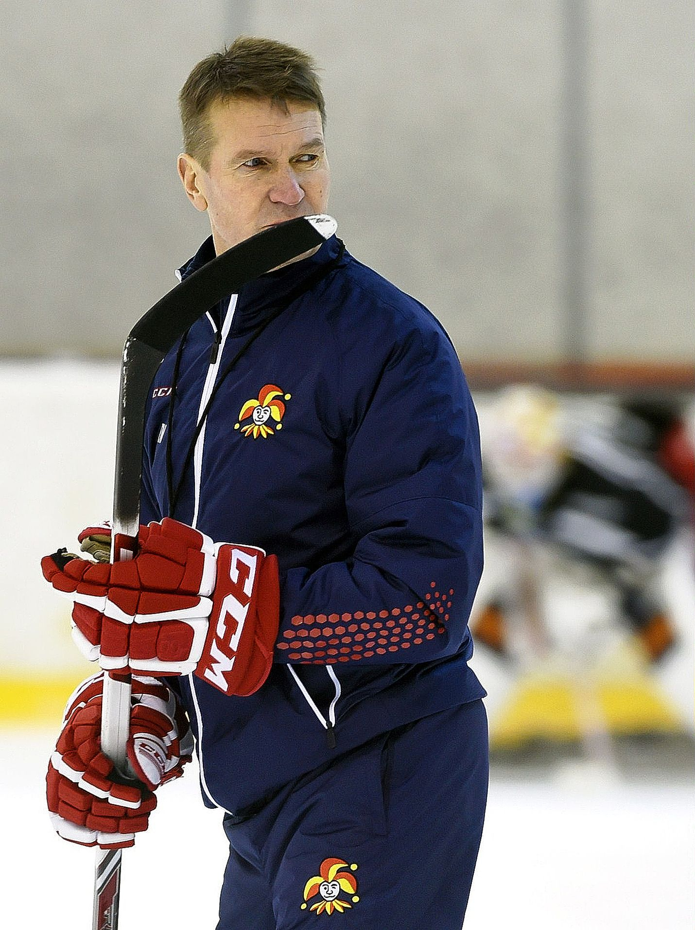 Erkka Westerlund luotsaa Jokereita kohti KHL:n pudotuspelejä.