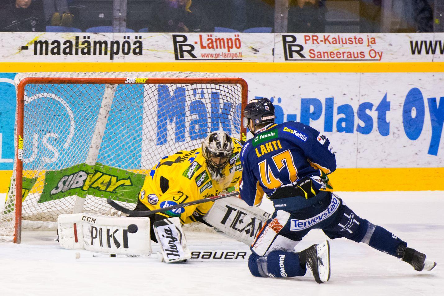 Janne Lahden rankkari ei uponnut.