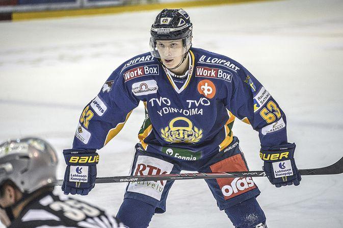 Eetu Koski on pelannut tällä kaudella 26 liigaottelua.