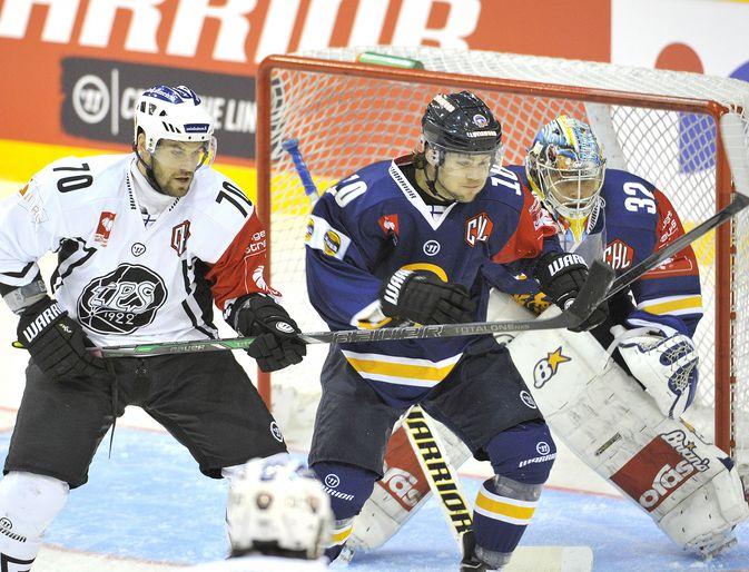 Mikko Kousa TPS-ottelussa ennen loukkaantumistaan.