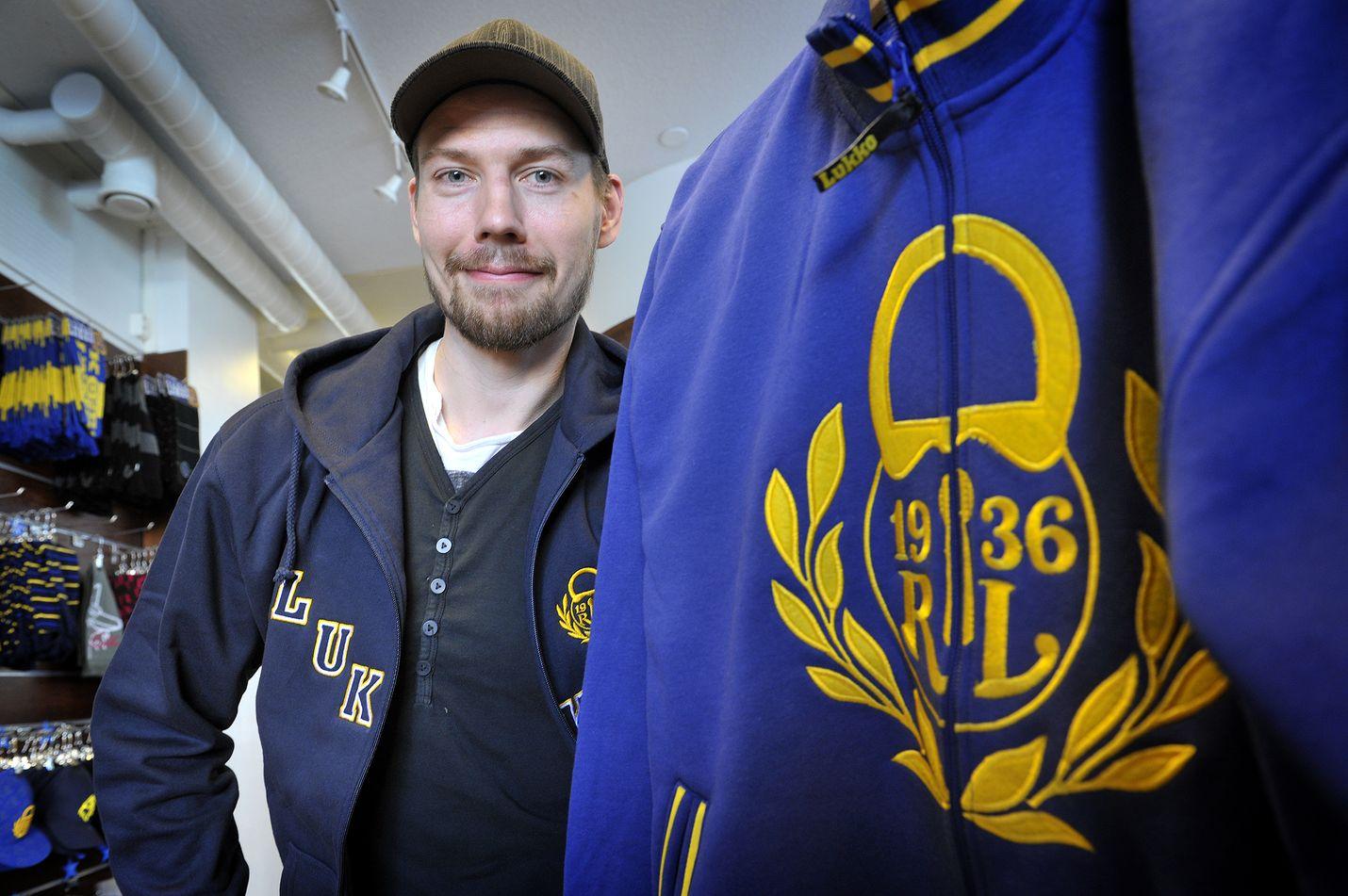 Janne Lahti pääsi levylle.
