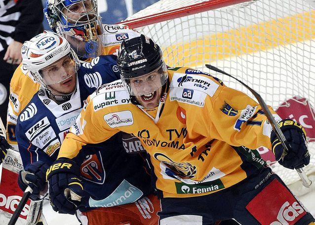 Ville Nieminen pelaa perjantaina uransa viimeisen pelin. Kuva: Jussi Nukari.