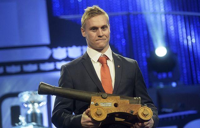 Olli Palola oli tämänkin kauden runkosarjassa kovin maalitykki. Kuva: Vesa Moilanen.