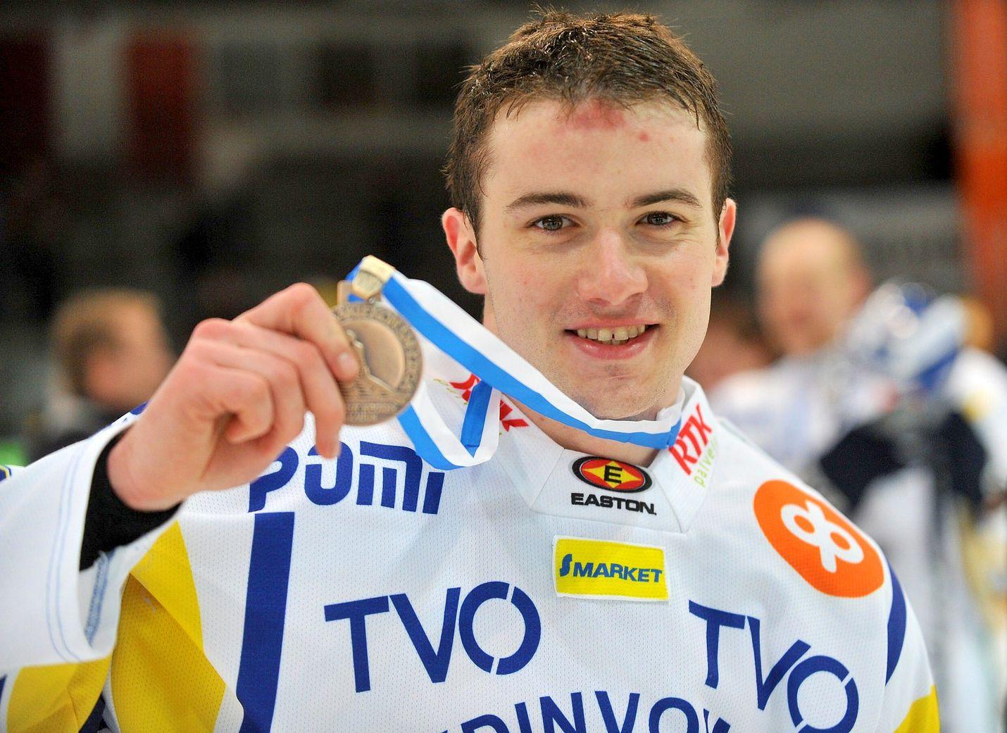 Jakub Petruzalek lähti Lukosta pronssi kaulassa. Välit Raumalle ovat yhä lämpimät.