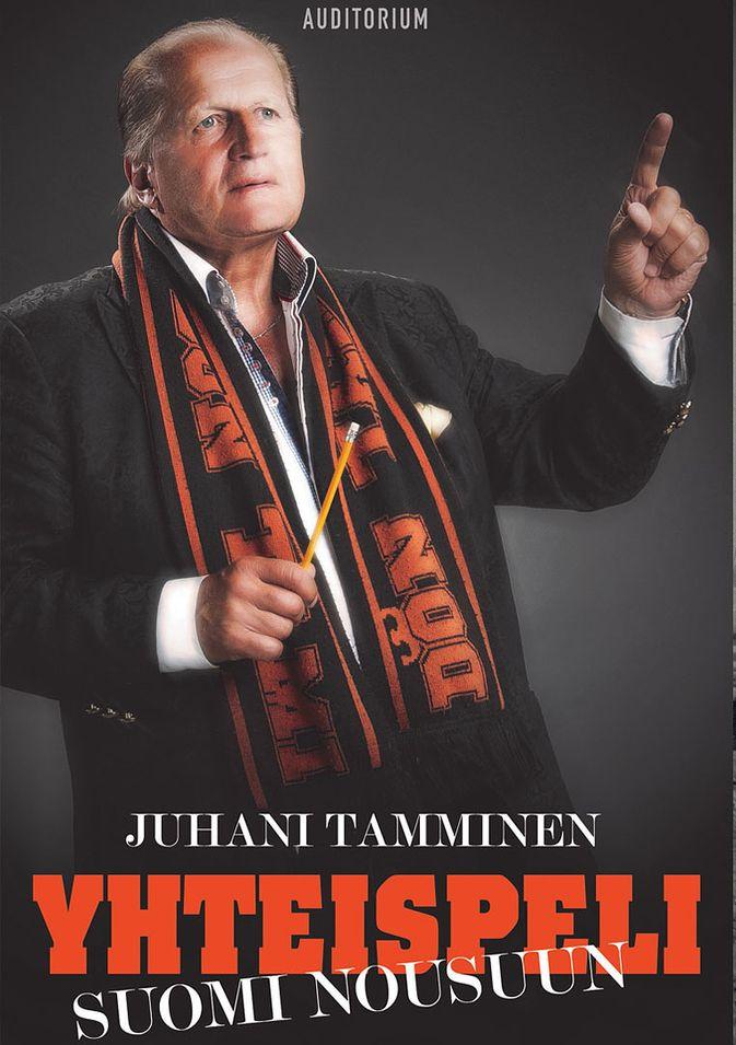 Juhani Tammisen piti signeerata näitä kirjoja Pyörä-Nurmilla.