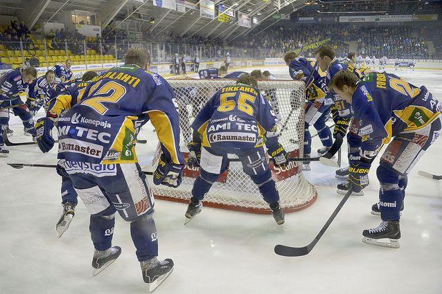 Lukon ensi kauden joukkue kootaan 2,7 miljoonalla eurolla. Kuva: Pekka Lehmuskallio.
