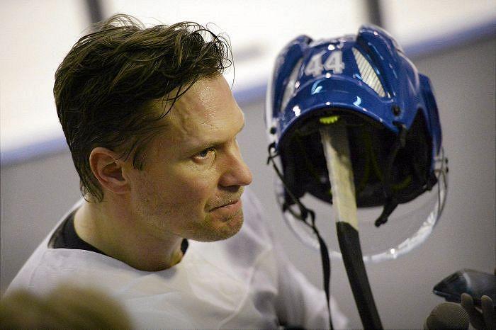Kimmo Timonen päättää NHL-uransa Chicagossa. Kuva: Lehtikuva.