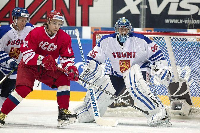 Nostalgiset peliasut. Suomi kohtasi Neuvostoliiton, ei kun Venäjän.