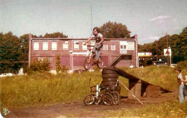 ​I always wanted to be Evel Knievel, he was every kid's hero in the 70's​​