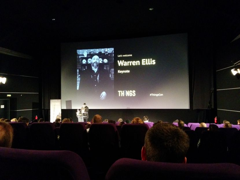 Warren Ellis opening keynote​