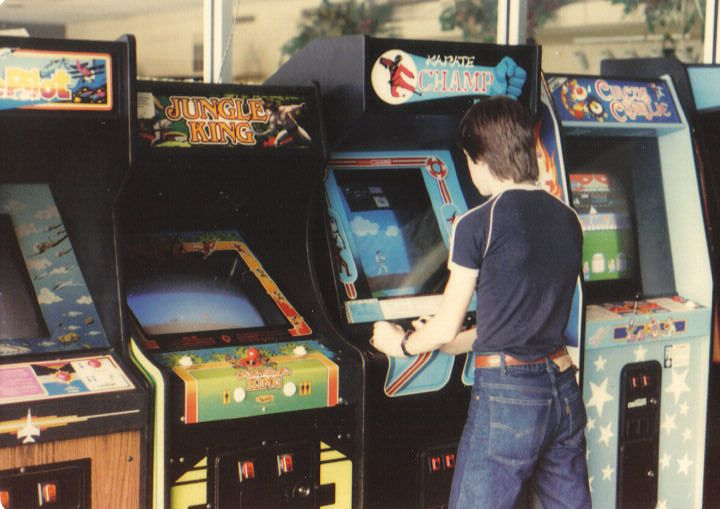The 80's saw an explosion of arcade and home console gaming​