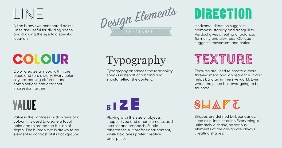 Elements Of Design Colour Definition : Visual design basics — futurice