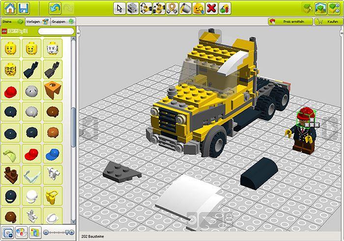 Lego's digital designer