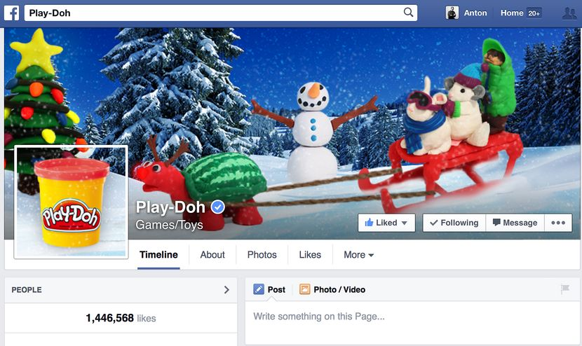 Play-Doh Facebook​​​