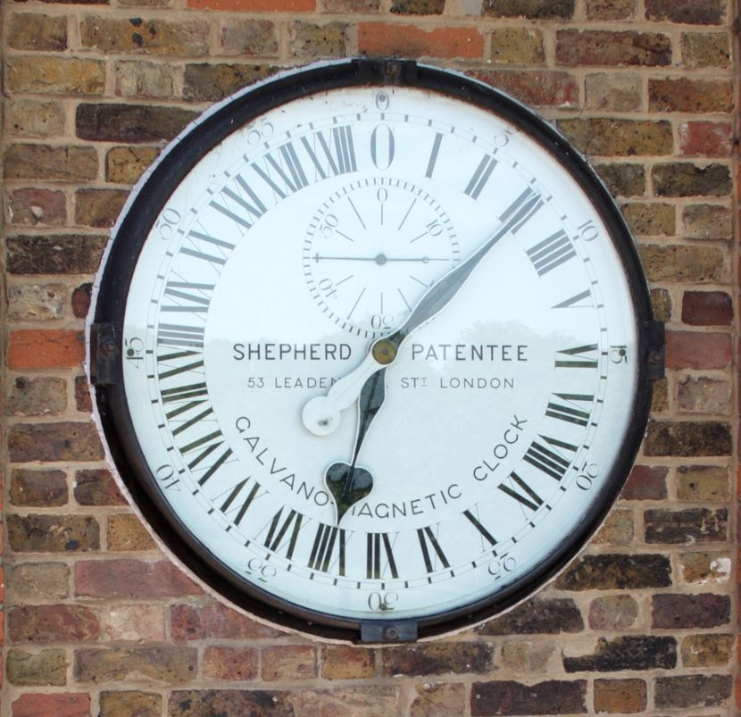 Shepherd Gate Clock, likely the first public clock to show Greenwich Mean Time