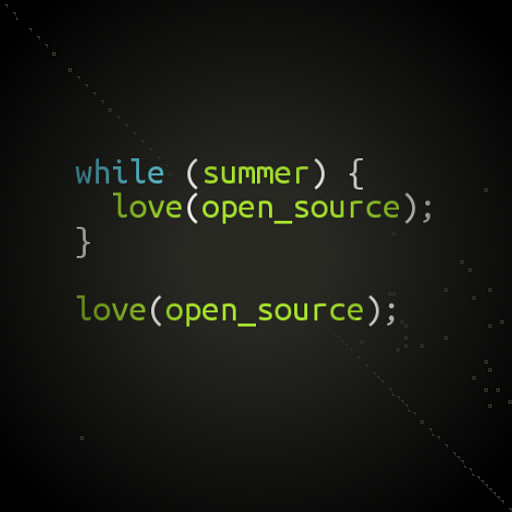Love for open source never dies.