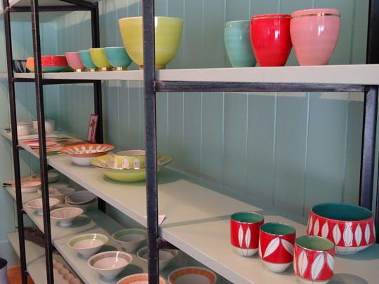 Ein Ausschnitt aus dem Sortiment von Keramik-Akzente.