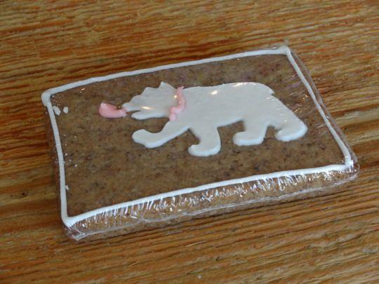 Ein Berner Haselnuss-Lebkuchen.