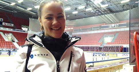 Rockettes kapteeni Anna Vuorela