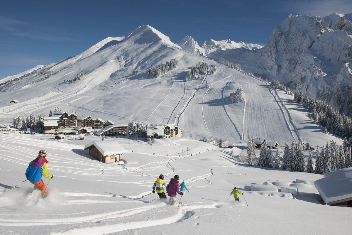 © Pascal Lebeau/ OT La Clusaz- Les meilleures stations de ski