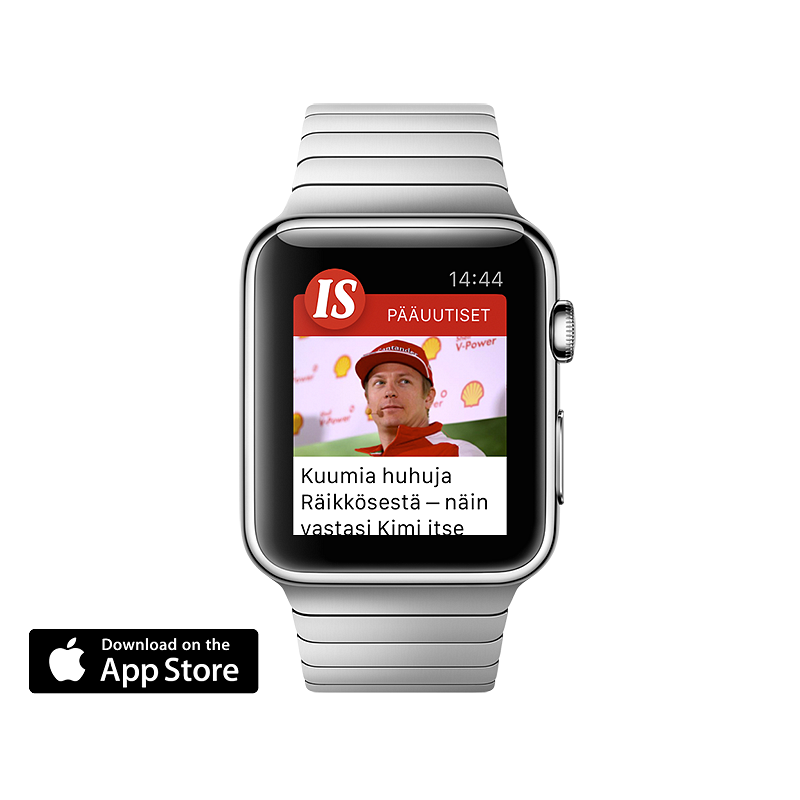 Ilta-Sanomat Apple Watch app​